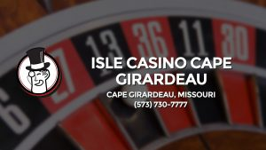 Casino & gambling-themed header image for Barons Bus Charter service to Isle Casino Cape Girardeau in Cape Girardeau, Missouri. Please call 5737307777 to contact the casino directly.)