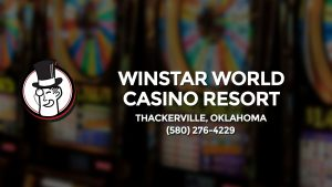 Casino & gambling-themed header image for Barons Bus Charter service to Winstar World Casino Resort in Thackerville, Oklahoma. Please call 5802764229 to contact the casino directly.)