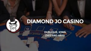 Casino & gambling-themed header image for Barons Bus Charter service to Diamond Jo Casino in Dubuque, Iowa. Please call 5636904800 to contact the casino directly.)