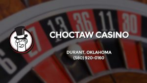Casino & gambling-themed header image for Barons Bus Charter service to Choctaw Casino in Durant, Oklahoma. Please call 5809200160 to contact the casino directly.)