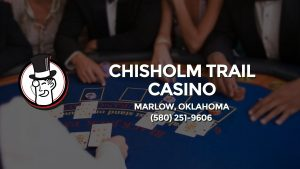 Casino & gambling-themed header image for Barons Bus Charter service to Chisholm Trail Casino in Marlow, Oklahoma. Please call 5802519606 to contact the casino directly.)