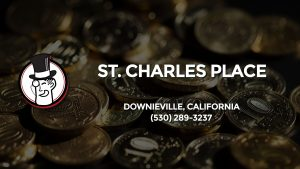 Casino & gambling-themed header image for Barons Bus Charter service to St. Charles Place in Downieville, California. Please call 5302893237 to contact the casino directly.)