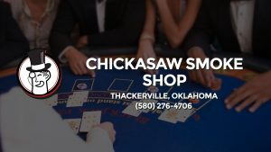 Casino & gambling-themed header image for Barons Bus Charter service to Chickasaw Smoke Shop in Thackerville, Oklahoma. Please call 5802764706 to contact the casino directly.)