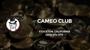 Casino & gambling-themed header image for Barons Bus Charter service to Cameo Club in Stockton, California. Please call 2094741777 to contact the casino directly.)