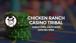 Casino & gambling-themed header image for Barons Bus Charter service to Chicken Ranch Casino Tribal in Jamestown, California. Please call 2099849066 to contact the casino directly.)