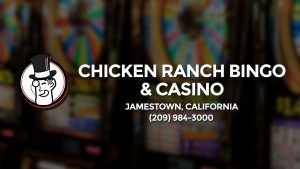 Casino & gambling-themed header image for Barons Bus Charter service to Chicken Ranch Bingo & Casino in Jamestown, California. Please call 2099843000 to contact the casino directly.)