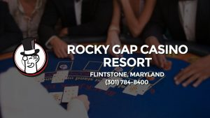 Casino & gambling-themed header image for Barons Bus Charter service to Rocky Gap Casino Resort in Flintstone, Maryland. Please call 3017848400 to contact the casino directly.)