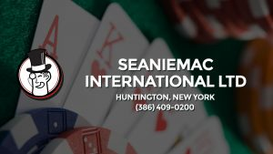 Casino & gambling-themed header image for Barons Bus Charter service to Seaniemac International Ltd in Huntington, New York. Please call 3864090200 to contact the casino directly.)
