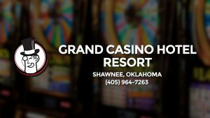 Casino & gambling-themed header image for Barons Bus Charter service to Grand Casino Hotel Resort in Shawnee, Oklahoma. Please call 4059647263 to contact the casino directly.)