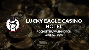 Casino & gambling-themed header image for Barons Bus Charter service to Lucky Eagle Casino Hotel in Rochester, Washington. Please call 3602738640 to contact the casino directly.)
