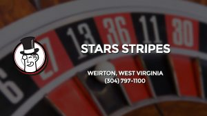 Casino & gambling-themed header image for Barons Bus Charter service to Stars Stripes in Weirton, West Virginia. Please call 3047971100 to contact the casino directly.)