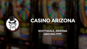 Casino & gambling-themed header image for Barons Bus Charter service to Casino Arizona in Scottsdale, Arizona. Please call 4808507777 to contact the casino directly.)