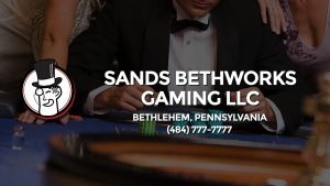 Casino & gambling-themed header image for Barons Bus Charter service to Sands Bethworks Gaming Llc in Bethlehem, Pennsylvania. Please call 4847777777 to contact the casino directly.)