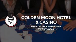 Casino & gambling-themed header image for Barons Bus Charter service to Golden Moon Hotel & Casino in Philadelphia, Mississippi. Please call 6016630066 to contact the casino directly.)