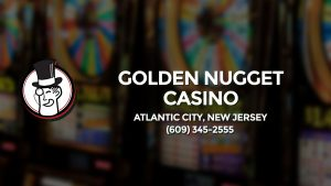Casino & gambling-themed header image for Barons Bus Charter service to Golden Nugget Casino in Atlantic City, New Jersey. Please call 6093452555 to contact the casino directly.)