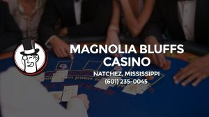 Casino & gambling-themed header image for Barons Bus Charter service to Magnolia Bluffs Casino in Natchez, Mississippi. Please call 6012350045 to contact the casino directly.)