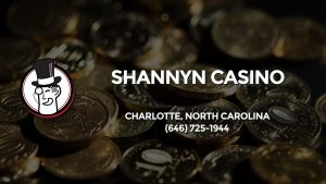 Casino & gambling-themed header image for Barons Bus Charter service to Shannyn Casino in Charlotte, North Carolina. Please call 6467251944 to contact the casino directly.)