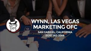 Casino & gambling-themed header image for Barons Bus Charter service to Wynn, Las Vegas Marketing Ofc in San Gabriel, California. Please call 6262823268 to contact the casino directly.)