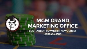 Casino & gambling-themed header image for Barons Bus Charter service to Mgm Grand Marketing Office in Egg Harbor Township, New Jersey. Please call 6094841300 to contact the casino directly.)