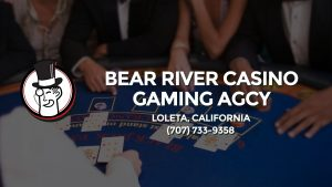 Casino & gambling-themed header image for Barons Bus Charter service to Bear River Casino Gaming Agcy in Loleta, California. Please call 7077339358 to contact the casino directly.)