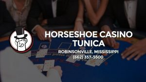Casino & gambling-themed header image for Barons Bus Charter service to Horseshoe Casino Tunica in Robinsonville, Mississippi. Please call 6623575500 to contact the casino directly.)