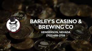 Casino & gambling-themed header image for Barons Bus Charter service to Barley's Casino & Brewing Co in Henderson, Nevada. Please call 7024582739 to contact the casino directly.)