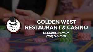 Casino & gambling-themed header image for Barons Bus Charter service to Golden West Restaurant & Casino in Mesquite, Nevada. Please call 7023467500 to contact the casino directly.)
