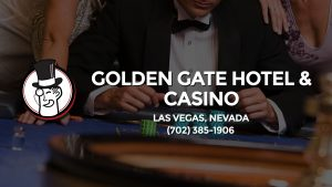 Casino & gambling-themed header image for Barons Bus Charter service to Golden Gate Hotel & Casino in Las Vegas, Nevada. Please call 7023851906 to contact the casino directly.)