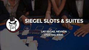 Casino & gambling-themed header image for Barons Bus Charter service to Siegel Slots & Suites in Las Vegas, Nevada. Please call 7026446300 to contact the casino directly.)