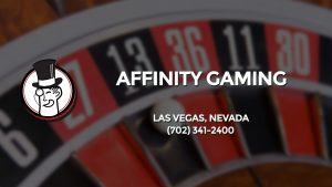 Casino & gambling-themed header image for Barons Bus Charter service to Affinity Gaming in Las Vegas, Nevada. Please call 7023412400 to contact the casino directly.)