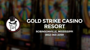 Casino & gambling-themed header image for Barons Bus Charter service to Gold Strike Casino Resort in Robinsonville, Mississippi. Please call 6623632059 to contact the casino directly.)