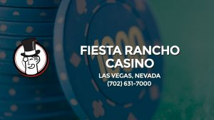 Casino & gambling-themed header image for Barons Bus Charter service to Fiesta Rancho Casino in Las Vegas, Nevada. Please call 7026317000 to contact the casino directly.)