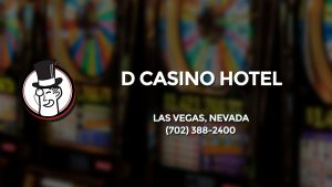 Casino & gambling-themed header image for Barons Bus Charter service to D Casino Hotel in Las Vegas, Nevada. Please call 7023882400 to contact the casino directly.)