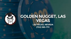 Casino & gambling-themed header image for Barons Bus Charter service to Golden Nugget, Las Vegas in Las Vegas, Nevada. Please call 7023857111 to contact the casino directly.)