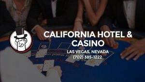 Casino & gambling-themed header image for Barons Bus Charter service to California Hotel & Casino in Las Vegas, Nevada. Please call 7023851222 to contact the casino directly.)