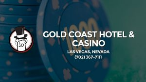 Casino & gambling-themed header image for Barons Bus Charter service to Gold Coast Hotel & Casino in Las Vegas, Nevada. Please call 7023677111 to contact the casino directly.)