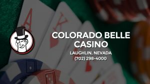 Casino & gambling-themed header image for Barons Bus Charter service to Colorado Belle Casino in Laughlin, Nevada. Please call 7022984000 to contact the casino directly.)