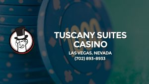 Casino & gambling-themed header image for Barons Bus Charter service to Tuscany Suites Casino in Las Vegas, Nevada. Please call 7028938933 to contact the casino directly.)