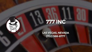 Casino & gambling-themed header image for Barons Bus Charter service to 777 Inc in Las Vegas, Nevada. Please call 7025688777 to contact the casino directly.)