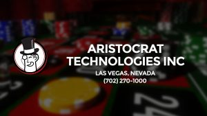Casino & gambling-themed header image for Barons Bus Charter service to Aristocrat Technologies Inc in Las Vegas, Nevada. Please call 7022701000 to contact the casino directly.)