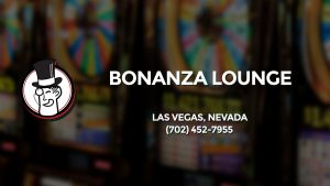 Casino & gambling-themed header image for Barons Bus Charter service to Bonanza Lounge in Las Vegas, Nevada. Please call 7024527955 to contact the casino directly.)