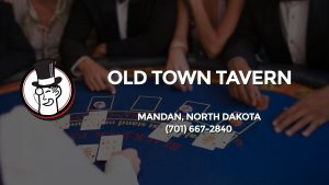 Casino & gambling-themed header image for Barons Bus Charter service to Old Town Tavern in Mandan, North Dakota. Please call 7016672840 to contact the casino directly.)