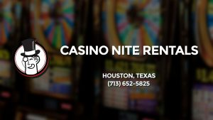 Casino & gambling-themed header image for Barons Bus Charter service to Casino Nite Rentals in Houston, Texas. Please call 7136525825 to contact the casino directly.)