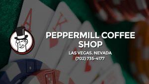 Casino & gambling-themed header image for Barons Bus Charter service to Peppermill Coffee Shop in Las Vegas, Nevada. Please call 7027354177 to contact the casino directly.)