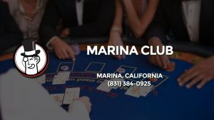 Casino & gambling-themed header image for Barons Bus Charter service to Marina Club in Marina, California. Please call 8313840925 to contact the casino directly.)