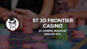 Casino & gambling-themed header image for Barons Bus Charter service to St Jo Frontier Casino in St. Joseph, Missouri. Please call 8162795514 to contact the casino directly.)