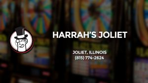Casino & gambling-themed header image for Barons Bus Charter service to Harrah's Joliet in Joliet, Illinois. Please call 8157742624 to contact the casino directly.)