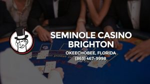 Casino & gambling-themed header image for Barons Bus Charter service to Seminole Casino Brighton in Okeechobee, Florida. Please call 8634679998 to contact the casino directly.)