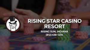 Casino & gambling-themed header image for Barons Bus Charter service to Rising Star Casino Resort in Rising Sun, Indiana. Please call 8124381234 to contact the casino directly.)