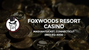 Casino & gambling-themed header image for Barons Bus Charter service to Foxwoods Resort Casino in Mashantucket, Connecticut. Please call 8603123000 to contact the casino directly.)